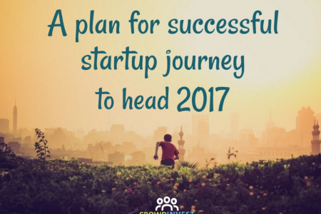A plan for successful startup journey to head 2017 Infographic