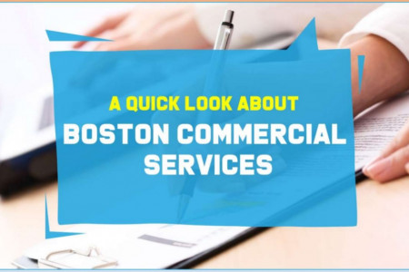 A Quick Look about Boston Commercial Services Infographic
