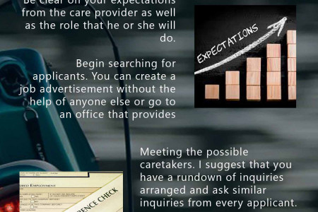 A Simple Guide for a Caretaker Screening Process Infographic