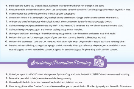 A Step-by-Step Guide to Creating, Publishing, and Promoting Great Content Infographic