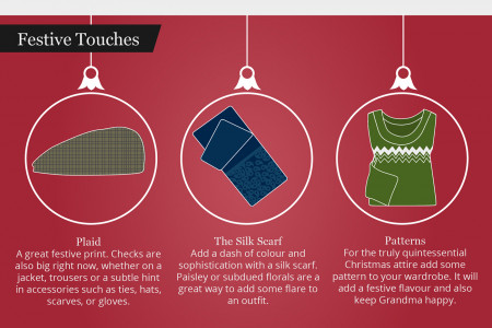 A Stylish Guide to Christmas Infographic