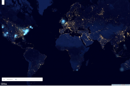 A Timeline Of How #YesAllWomen Spread On Twitter Infographic