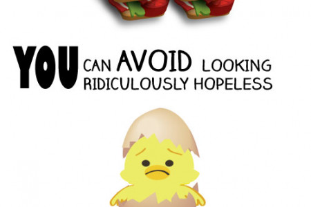 A TIP FROM A CHICK Infographic