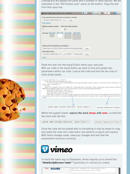 A Tough Cookie to Crack Infographic