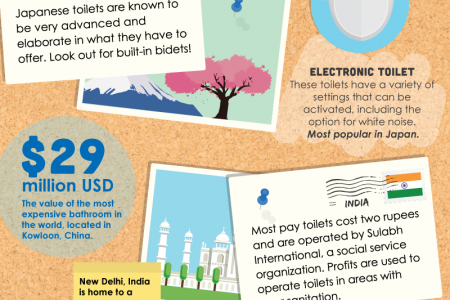 A Traveler's Guide To International Public Restrooms Infographic