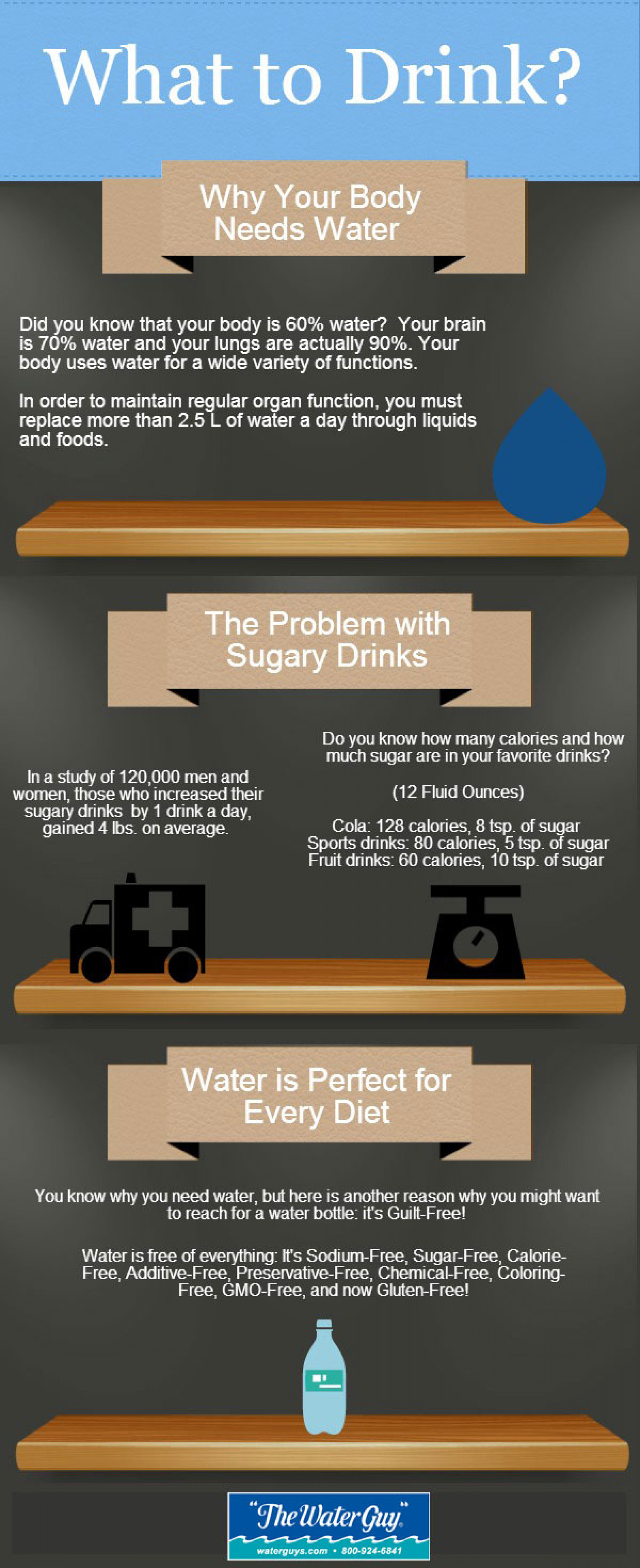 Why Your Body Needs Water Infographic