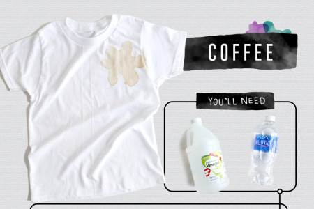 A Visual Guide to Removing Stains Infographic