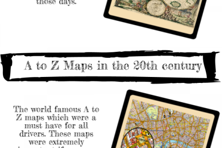 A visual history of Maps Infographic