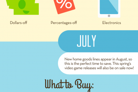 A Year in the Life of a Savvy Shopper by SelectAware Infographic