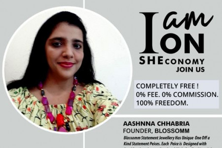Aashnna Chhabria Is On SHEconomy Infographic