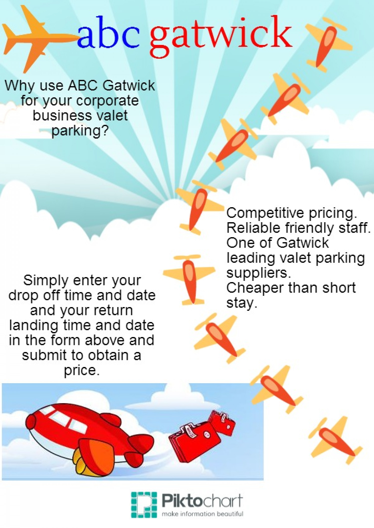 abc gatwick services Infographic