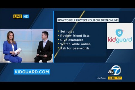 ABC News - How to Monitor Your Child's Cell Phone With KidGuard Infographic