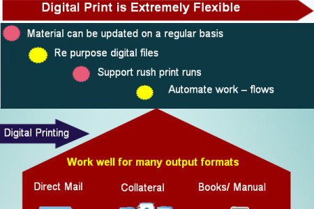 About Digital Printing Infographic