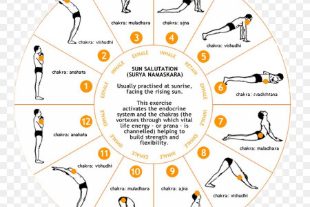 About Suryanamaskar, How to do Surya Namaskar, Health Benefits Infographic