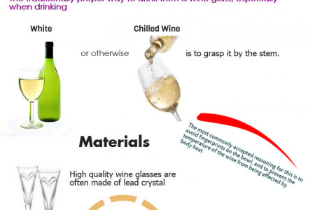 About Wine Glass Infographic