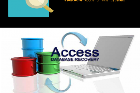 Access Data Recovery - Recover deleted Access Database Infographic
