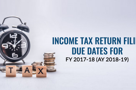 Account Audit Required Income Tax Return Due Dates Infographic