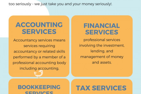 Accounting And Financial Services Infographic