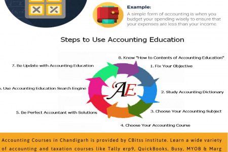 Accounting courses in Chandigarh  Infographic