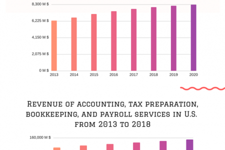 Accounting Industry Growth in USA - Facts & Figures by Cogneesol Infographic
