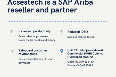 Acsestech is SAP Ariba reseller and partner  Infographic