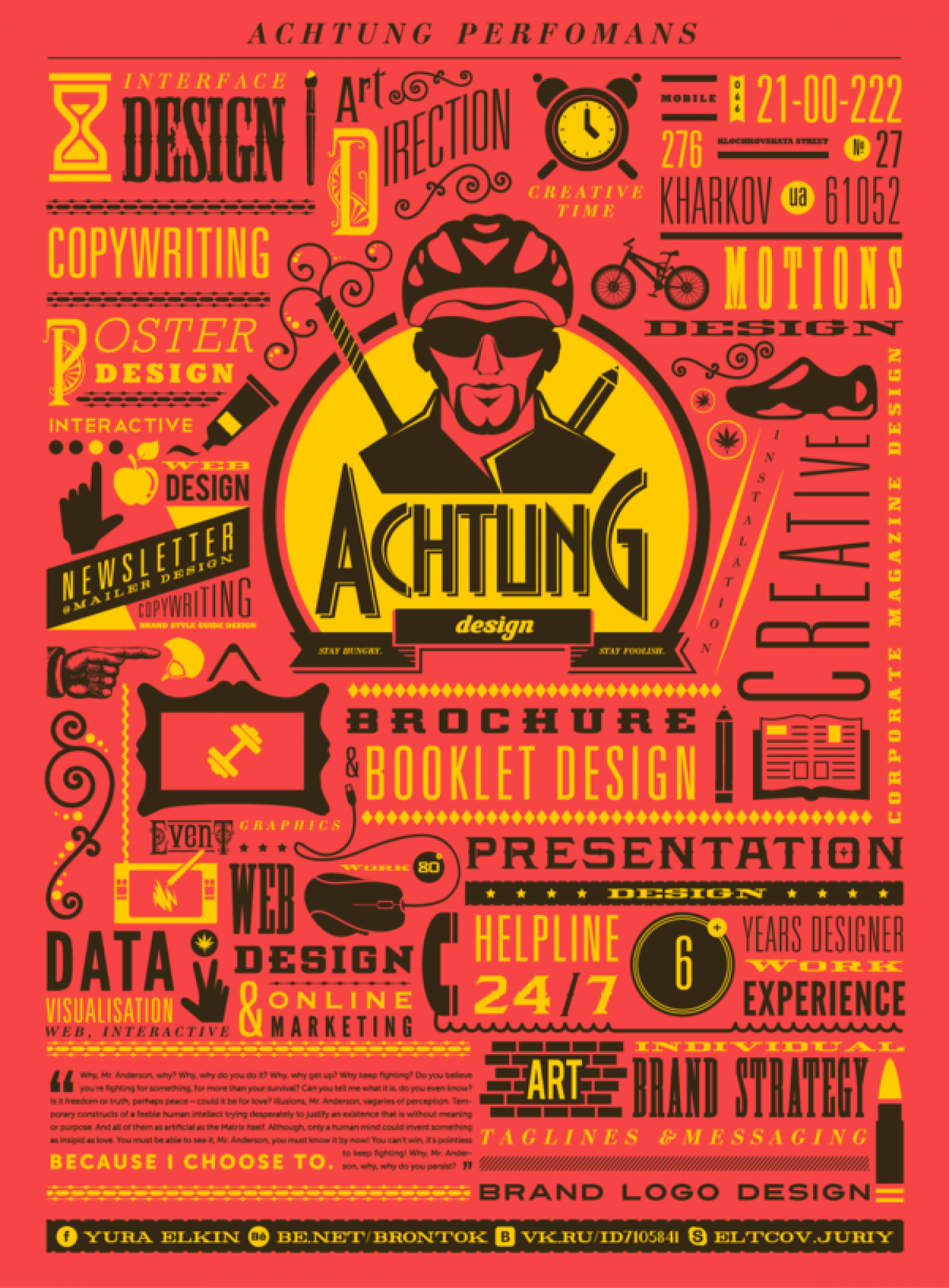 Achtung Design 2 Infographic