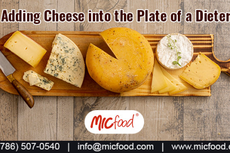 Adding Cheese into the Plate of a Dieter Infographic