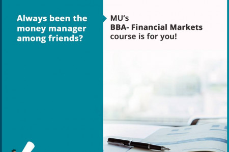 Admissions 2018 closes soon for BBA Financial Markets Infographic