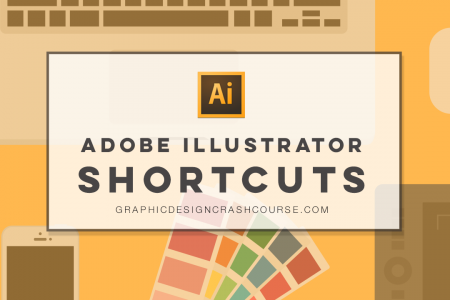 Adobe Illustrator Shortcuts Infographic