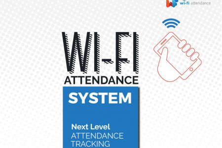 Advanced Employee Attendance Tracking From WiFi Attendance Infographic