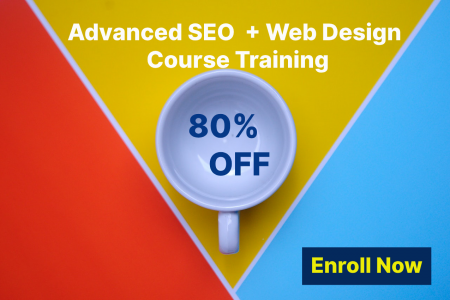 Advanced SEO Course Training with Live Project Infographic