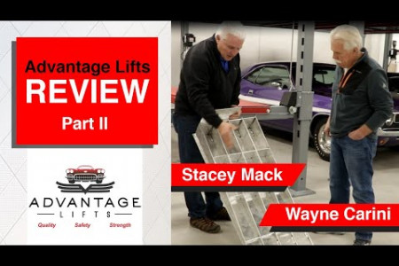 Advantage Lifts review by Wayne Carini and Stacey Mack Part 2 Infographic