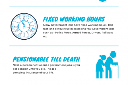 Advantages Of a Government Job In India Infographic