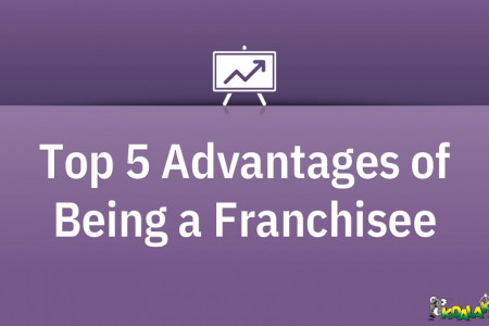Advantages of being a franchisee  Infographic