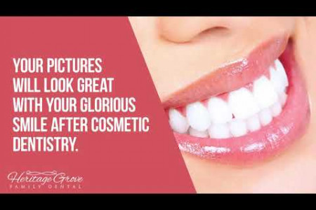Advantages of Cosmetic Dentistry in Plainfield IL (Illinois) Infographic