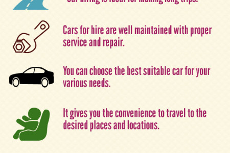 Advantages of Hiring Luxury Cars Infographic