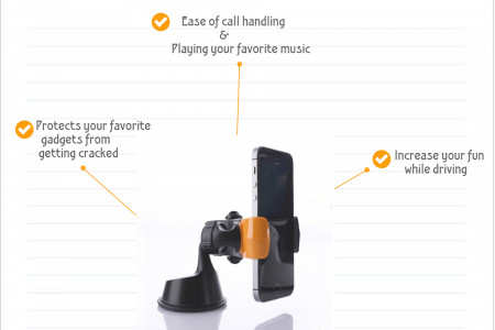 Advantages of using Iphone Car Mounts Infographic