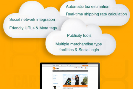 Advantages of XCart in the current online shopping trend - Get into new online shopping world Infographic