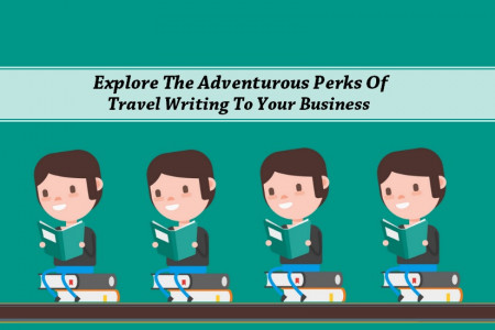 Adventurous Perks Of Travel Writing Services For Business Infographic