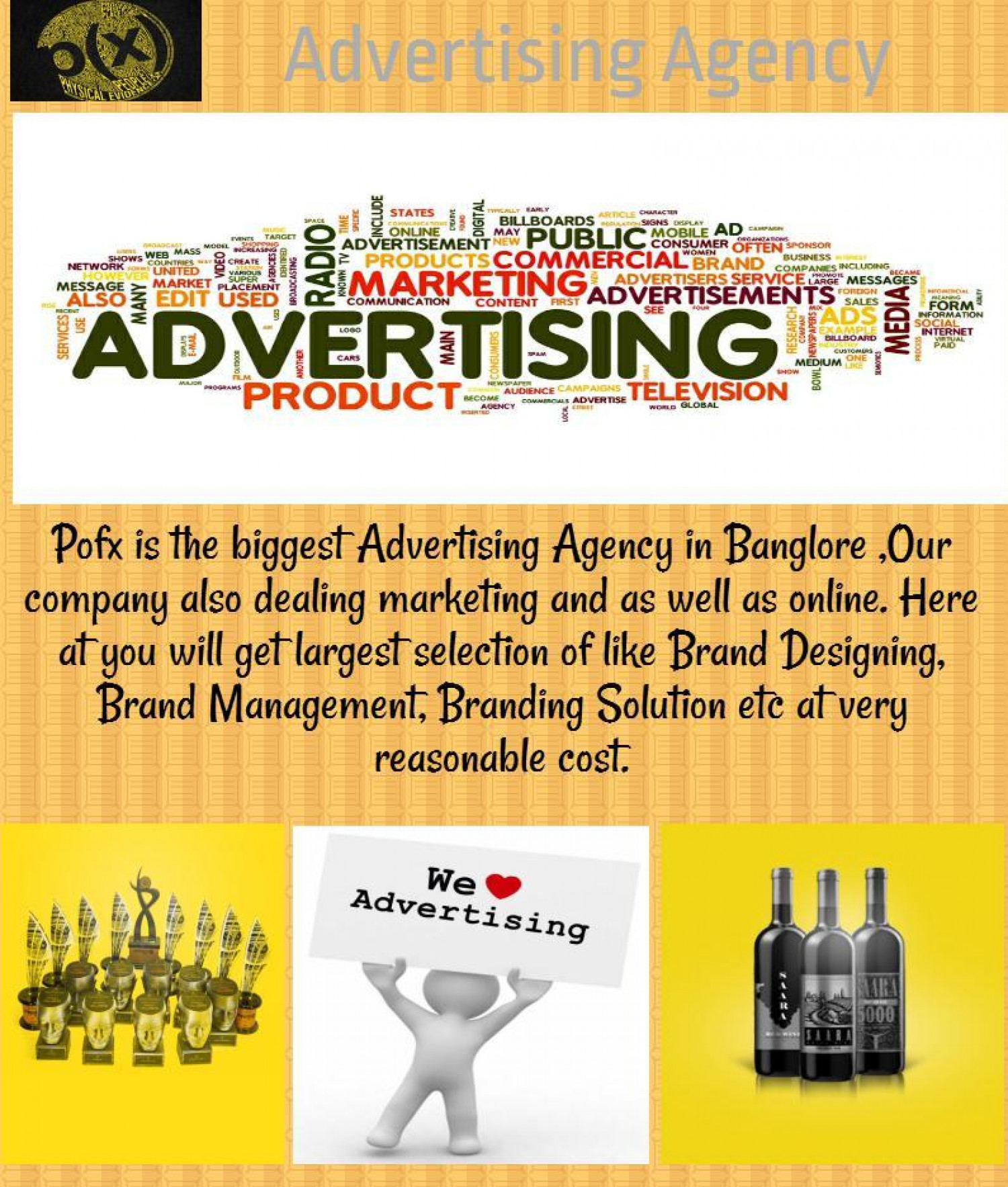 Advertising Agency Infographic
