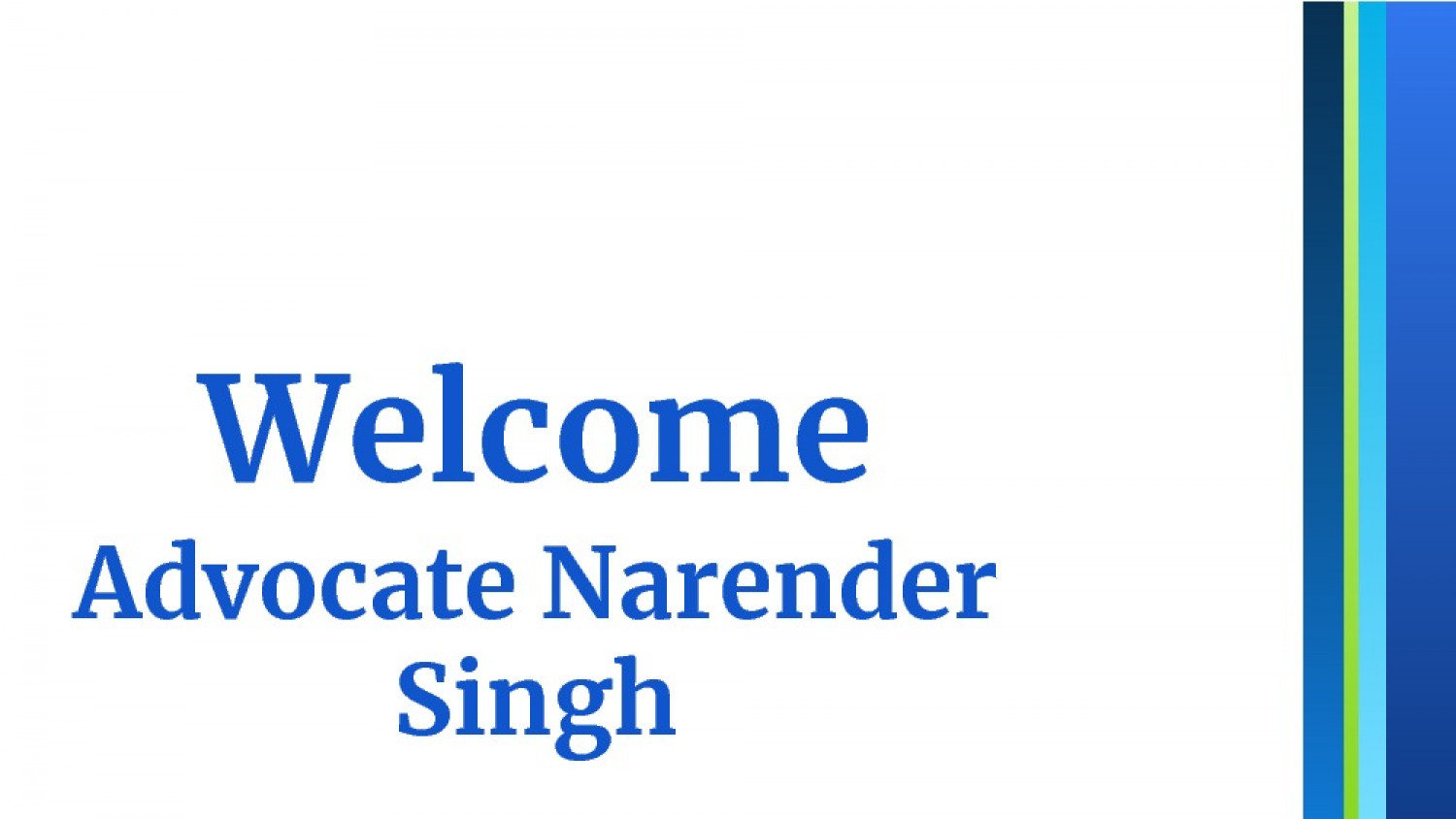 Advocate for Matrimonial Cases | Advocate Narender Singh Infographic