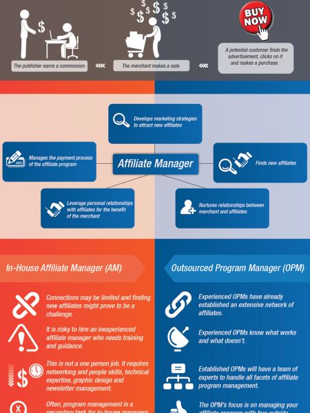 Affiliate Program Management Infographic