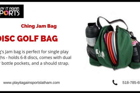 Affordable Disc Golf Bag - Play It Again Sports Infographic
