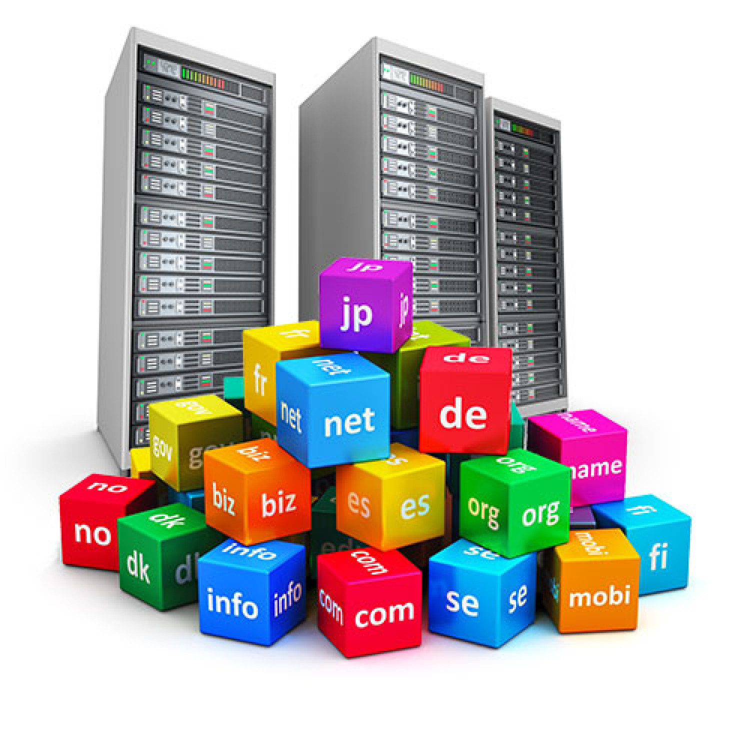 Affordable Domain Name Registration Services Infographic