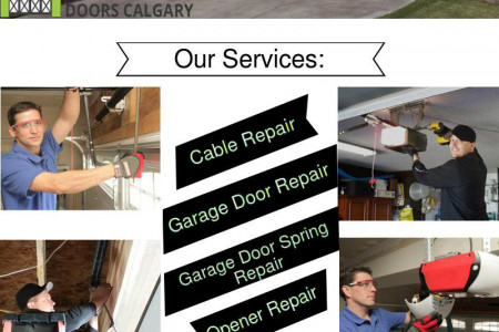 Affordable Garage Door Repair Services -  Calgary Infographic