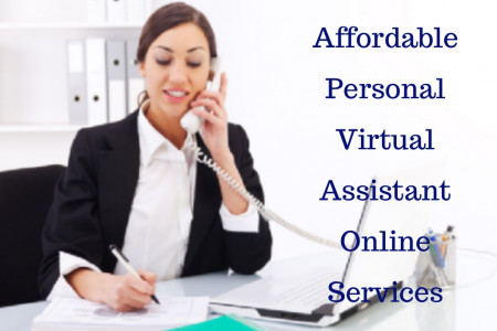 Affordable Personal Virtual Assistant Online Services Infographic