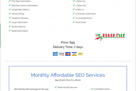 Affordable SEO Services For Small Business Infographic