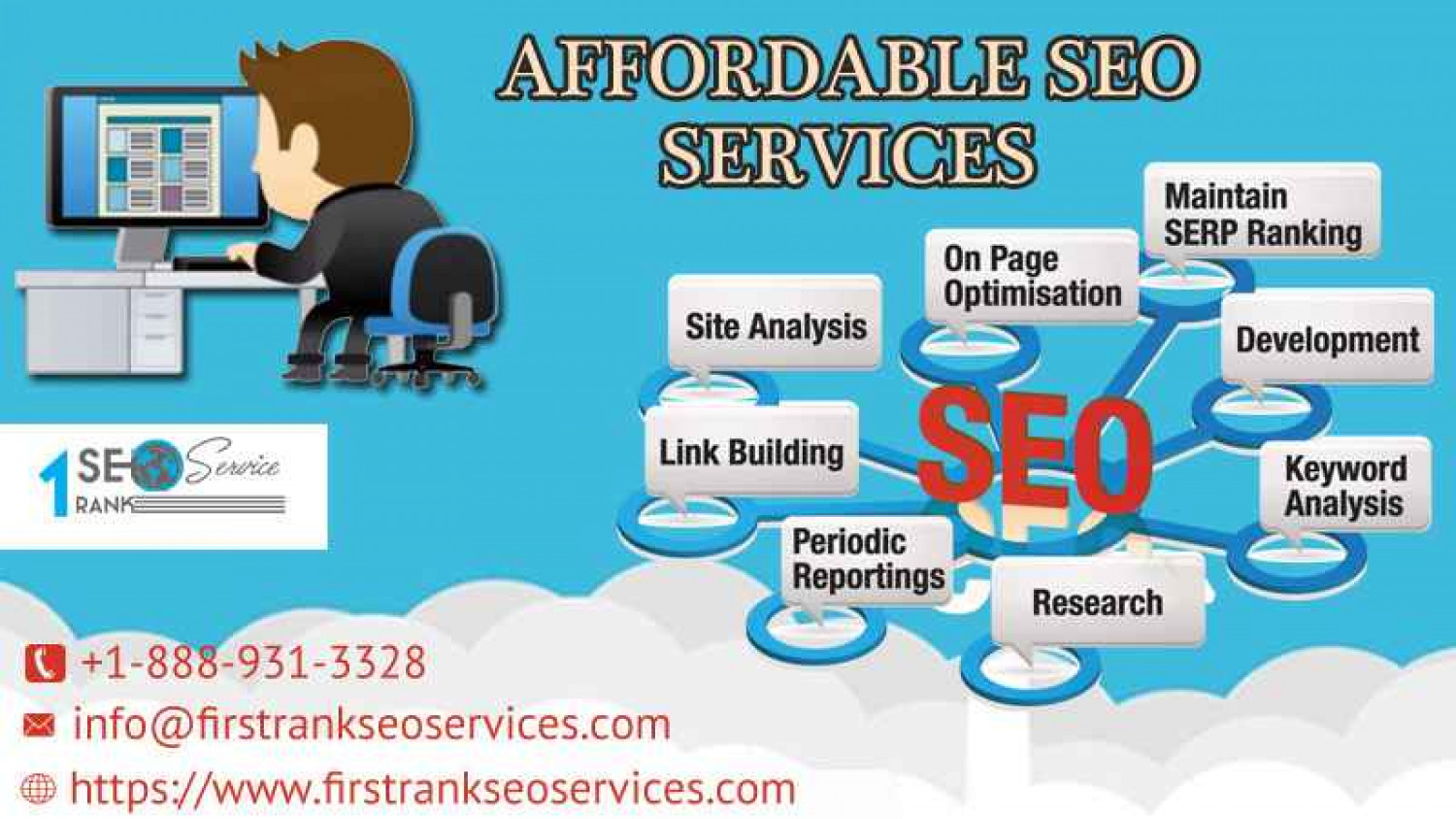 Affordable SEO services improve better user experience  Infographic