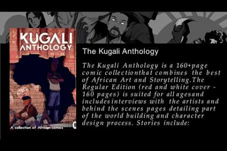 African Anthology :  kugali.com : Mystery Anthology Infographic
