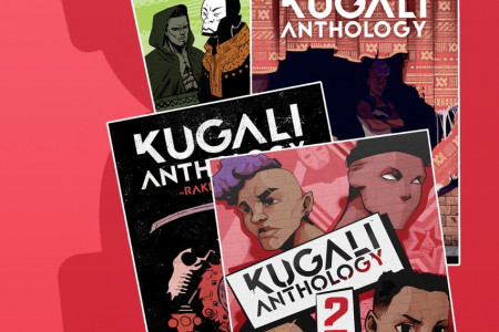 African Anthology | Anthology of Science Fiction | Kugali Anthology Infographic